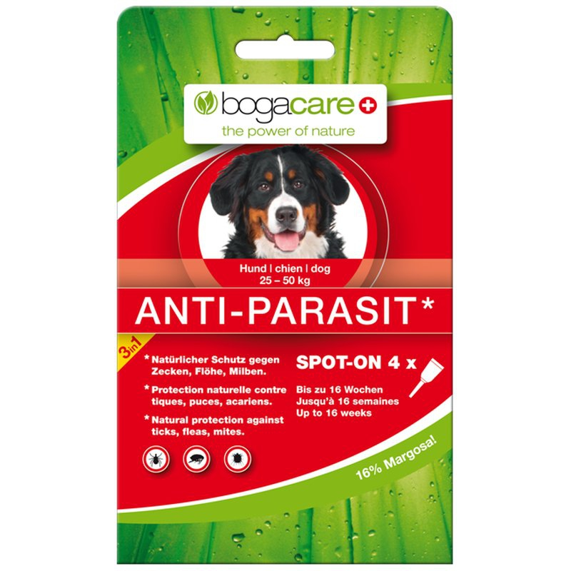 bogar insektenschutz bogacare anti parasiten spot on f r hunde. Black Bedroom Furniture Sets. Home Design Ideas