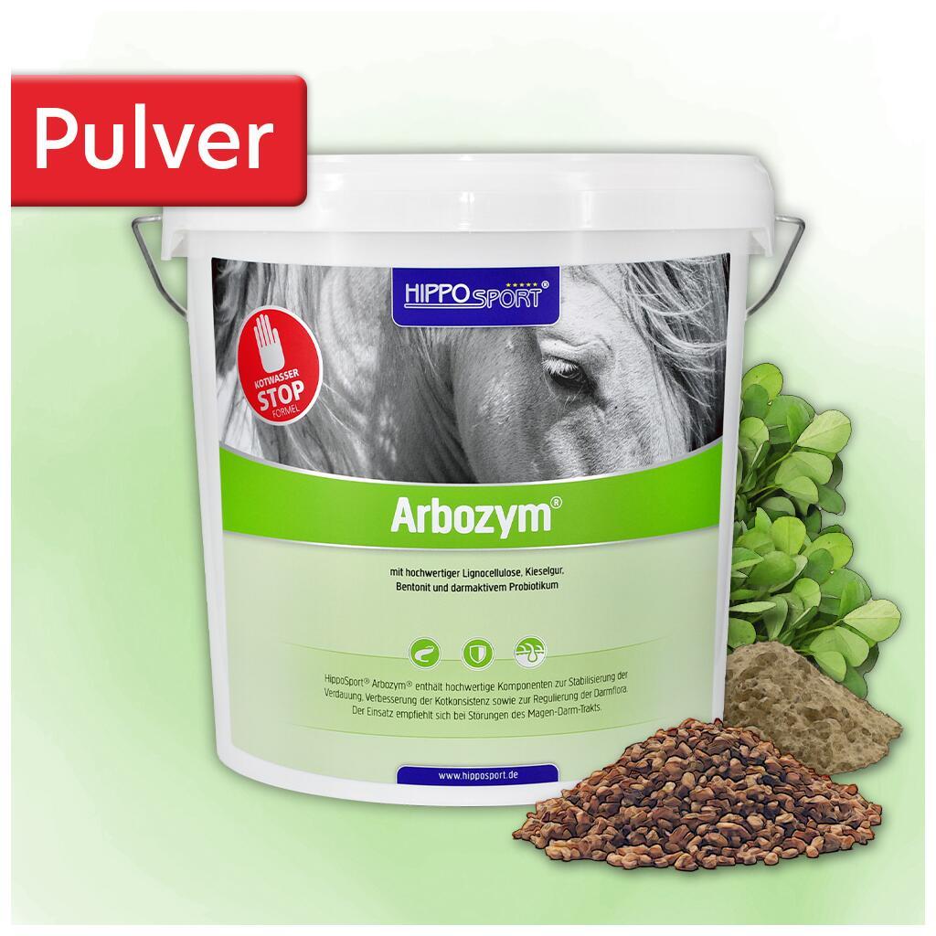 Hipposport Ergänzungsfutter Arbozym Pulver Für Pferde 5kg