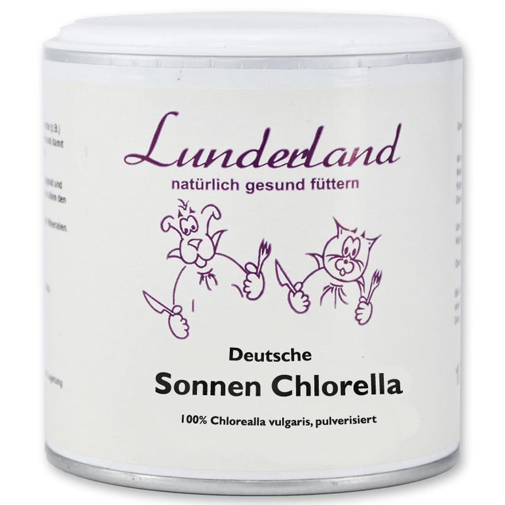 lunderland erg nzungsfutter sonnen chlorella f r hunde 14. Black Bedroom Furniture Sets. Home Design Ideas