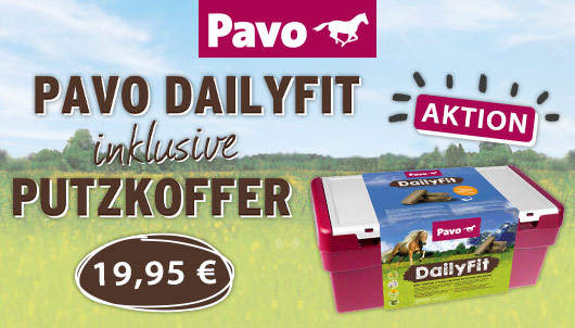 Aktion Pavo DailyFit mit Putzkoffer