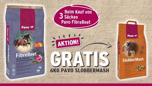 Aktion! - PAVO FibreBeet Slobber Mash